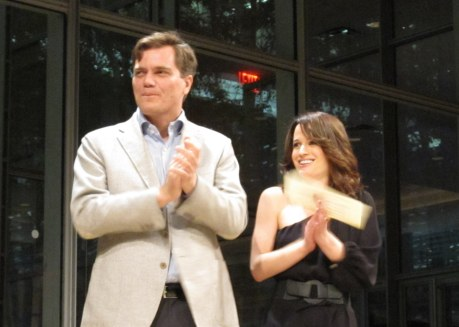 Michael Shannon and Elizabeth Reaser