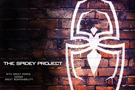"""The Spidey Project"" poster"