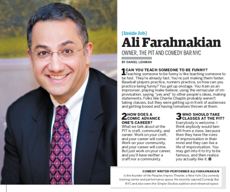Backstage 01.10.13 pg 16 Inside Job Ali Farahnakian