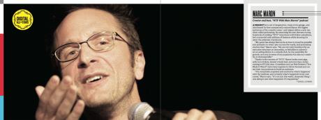 Backstage 03.14.13 pg 22-23 Marc Maron